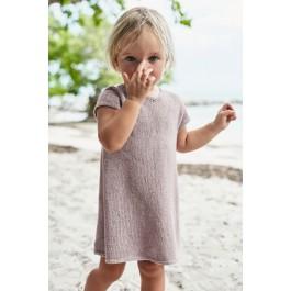 Strick-Set Sandnes Kinderkleid Gr. für 1 Jahr