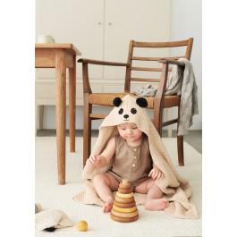 Strick-Set Sandnes Garn Teddy Handtuch Mandarin Petit 2106