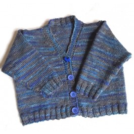 Strick-Set Babyjacke #2 Gr. 6 /12 /24 Monate