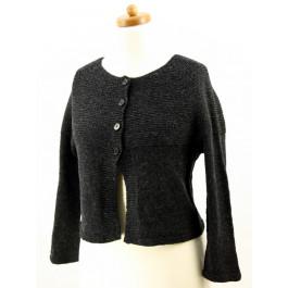 Strick-Set Jacke mit langem Arm Semilla Melange Gr. L