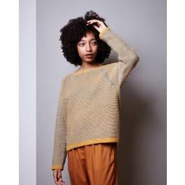 Strick-Set LAMANA Pullover #05/09 Gr. XL Como/ Como Tweed