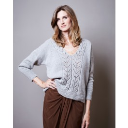 Strick-Set LAMANA Pullover #20/09 Gr. S/M Como Tweed