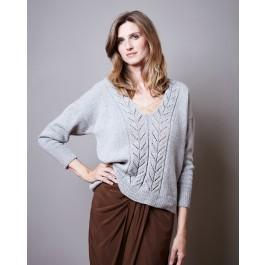Strick-Set LAMANA Pullover #20/09 Gr. L Como Tweed