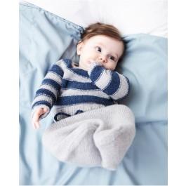 Strick-Set LAMANA Baby Ringelpulli #01/02 Gr. 62 1 Como von LAMANA 1