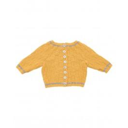 Strick-Set LAMANA Baby Jacke #04/02 Gr. 74 aus Como