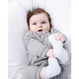 Strick-Set LAMANA Baby Strampler #08/02 Gr. 74 aus Como 1