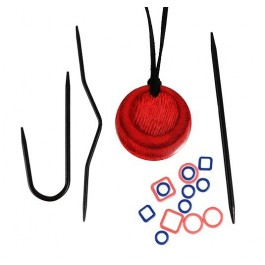 KnitPro Halskette Magnet - Cherry Berry