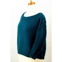 Strick-Set Oversize Pullover Como Gr. L