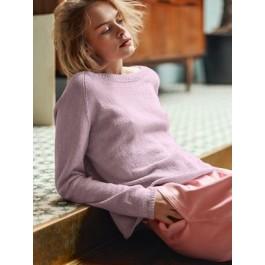Strick-Set Sandnes Raglan-Pullover 1805 Gr. XL