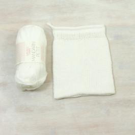 Strick-Set Waschhandschuh Mandarin Petit