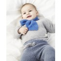 Strick-Set LAMANA Baby Schal #07/01 Como