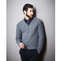 Strick-Set LAMANA Cardigan Men #09/01 Gr. S Milano