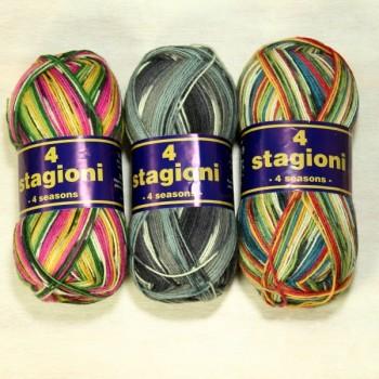 4 Stagioni 4 seasons - Sockenwolle