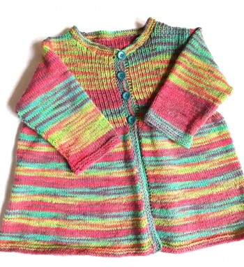 Strick-Set Babyjacke #1 Gr. 6 /12 /24 Monate
