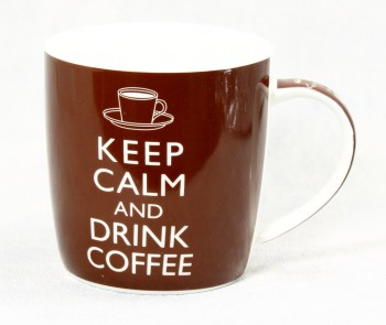 Becher Keep calm and drink coffee