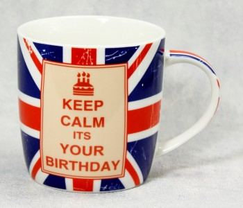 Becher Keep calm its your birthday
