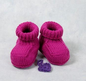 Strick-Set Babyschuhe Lifestyle