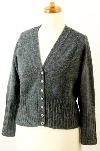 Strick-Set Jacke Bio Balance Gr. XL Vorderansicht