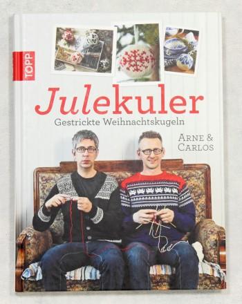 Julekuler – Gestrickte Weihnachtskugeln Cover