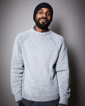 Strick-Set LAMANA Pullover Men #10/01 Gr.S-M Como Tweed + Milano