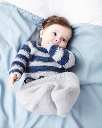 Strick-Set LAMANA Baby Ringelpulli #01/02 Gr. 74 1 Como von LAMANA 1
