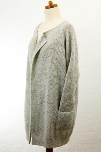 Strick-Set LAMANA Mantel # Gr. L/XL Como Tweed 02