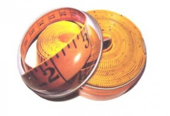 Kleiber Maßband cm inch 3m