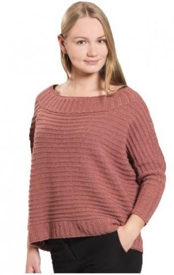 Strick-Set Pullover Variante #2 Babyalpaca Gr. L