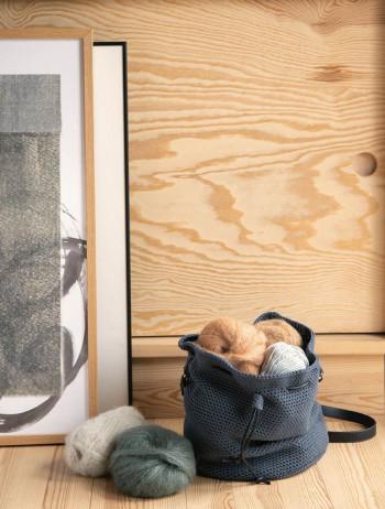Häkel-Set Sandnes Garn 2109 DIY Bucket Bag Mandarin Petit Modell 9