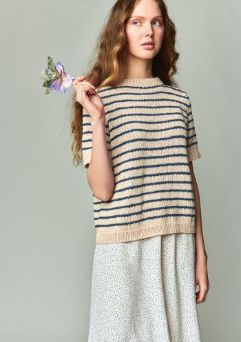 Strick-Set Sandnes Marian T-Shirt Line 2104 Gr. L -XL