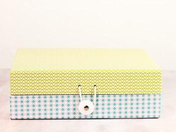 Schachtel - klein - gelb