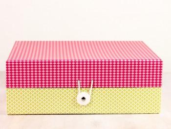 Schachtel - mittel pink 1
