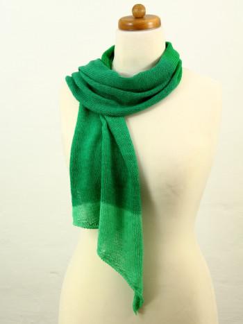 Musterteil Kleiner Schal Filigran grün