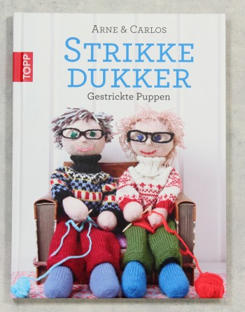 Strikke Dukker – Gestrickte Puppen Arne & Carlos