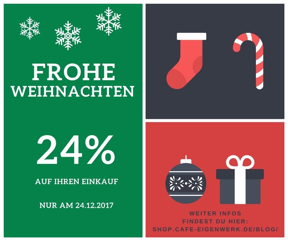 24% auf Ihren Einkauf