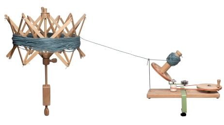 Knitpro Wollwickler Haspel
