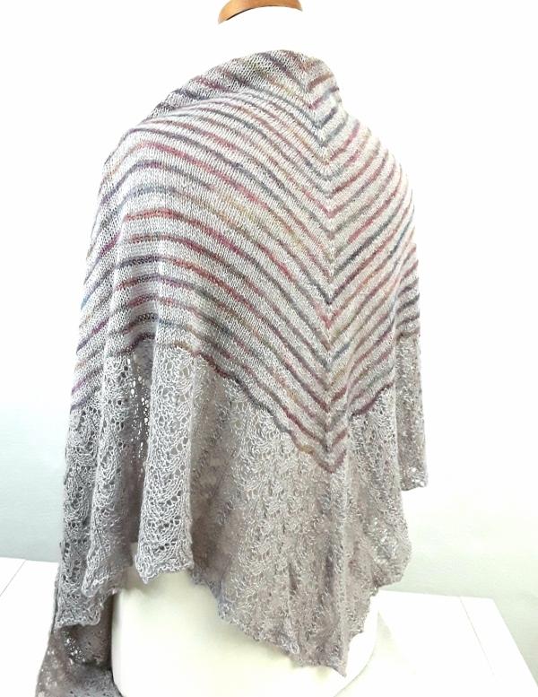 Strickset Tuch Silkpaca von Malabrigo