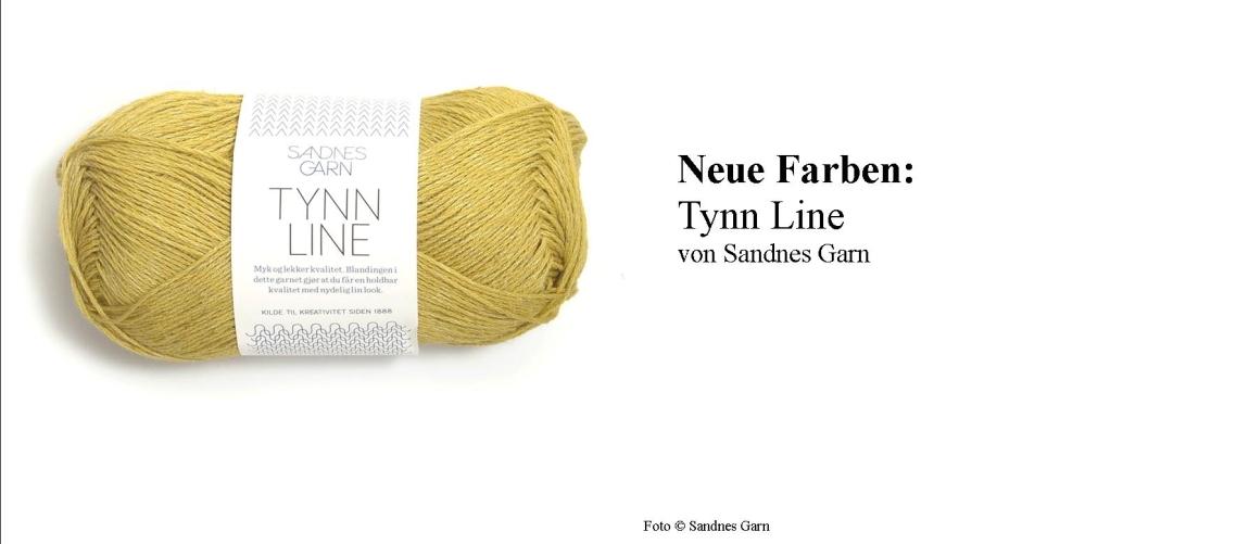 Tynn Line Sandnes Garn Wolle