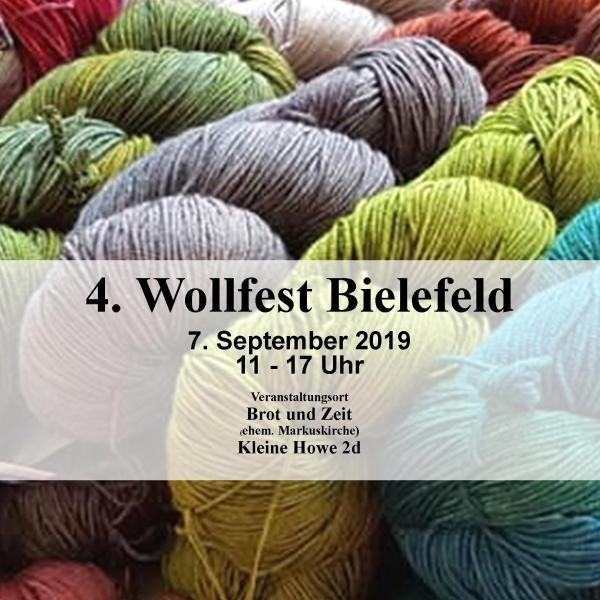 Wollfest 2019 Ankündigung