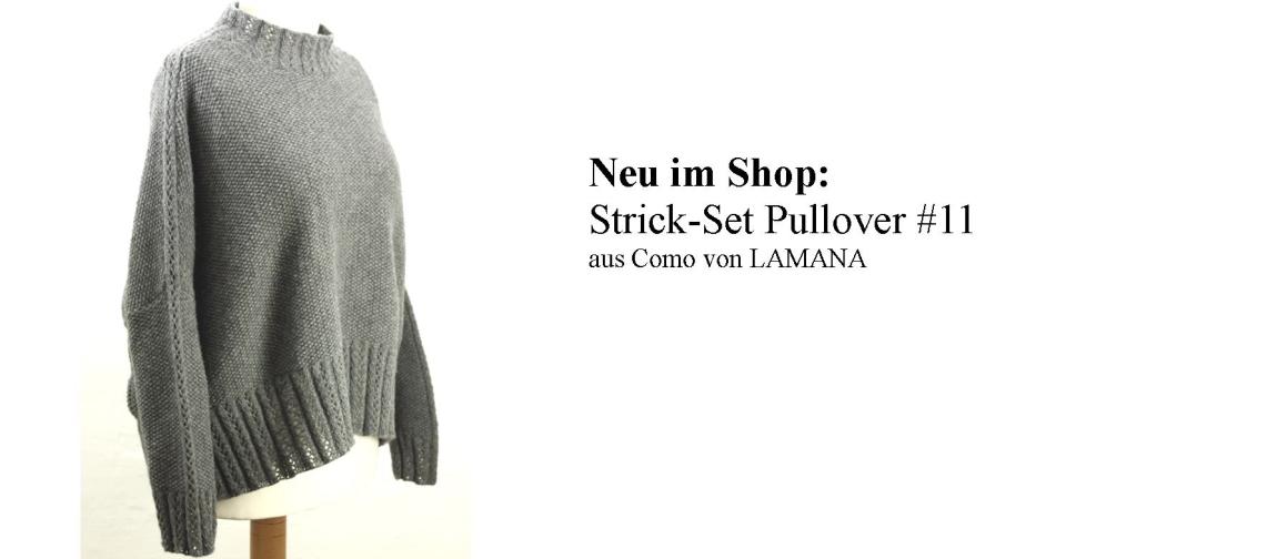 Strickset Pullover #11/08 Lamana