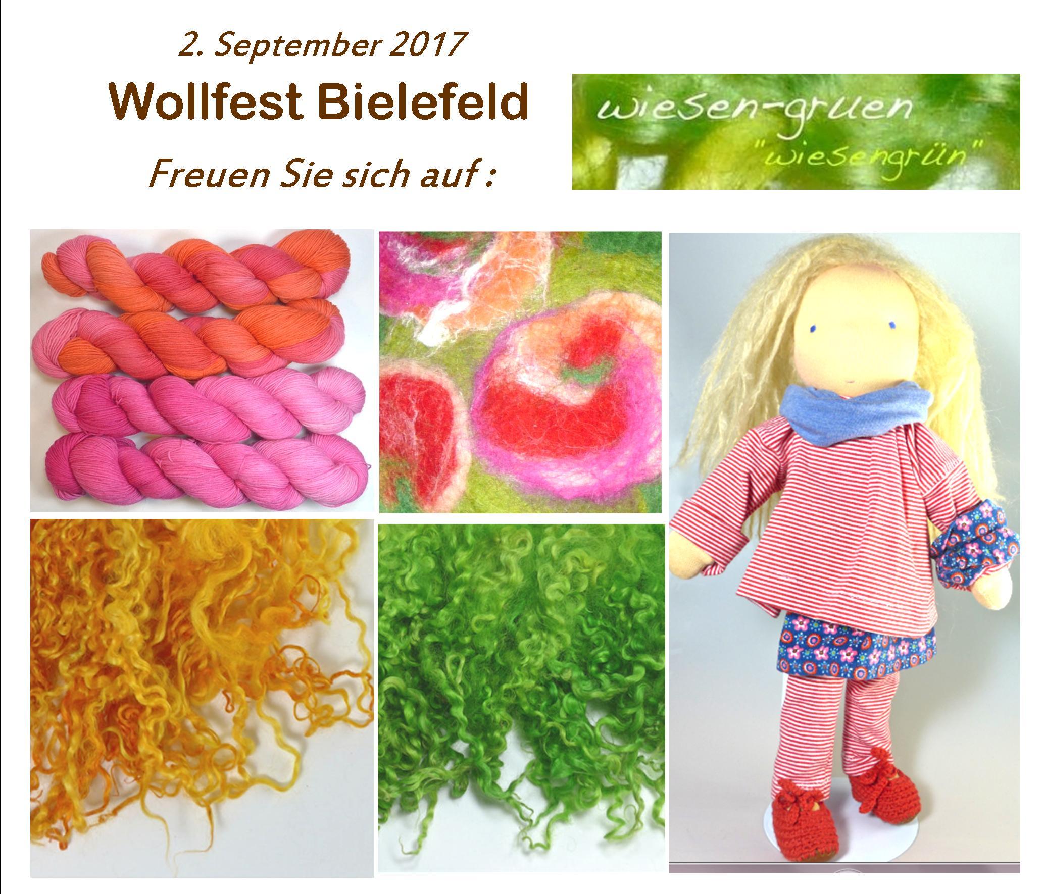 Ausstellerin Wollfest 2017