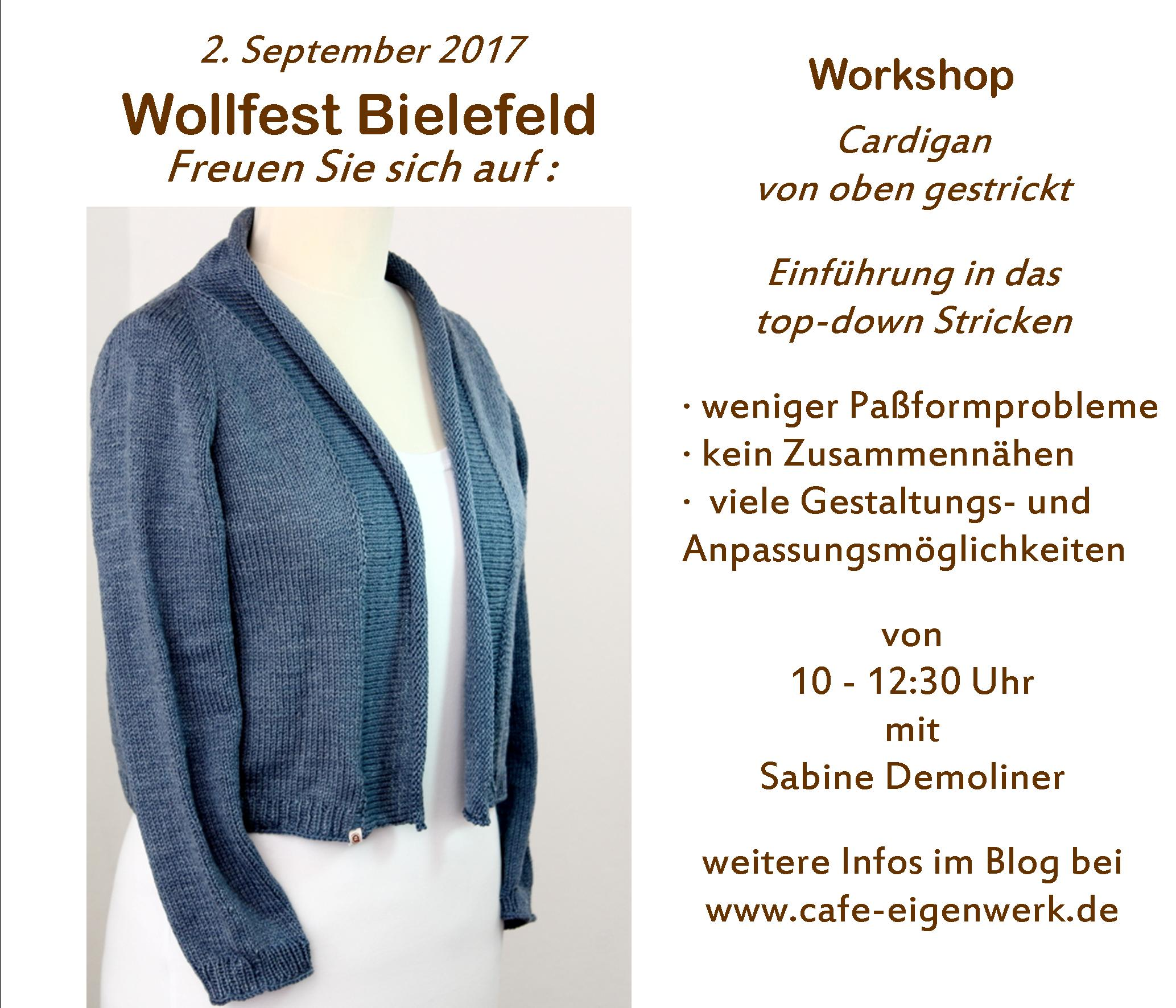 Workshop Wollfest
